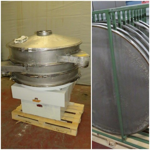 R6SA1131 Stainless steel RUSSEL FINEX circular sieve