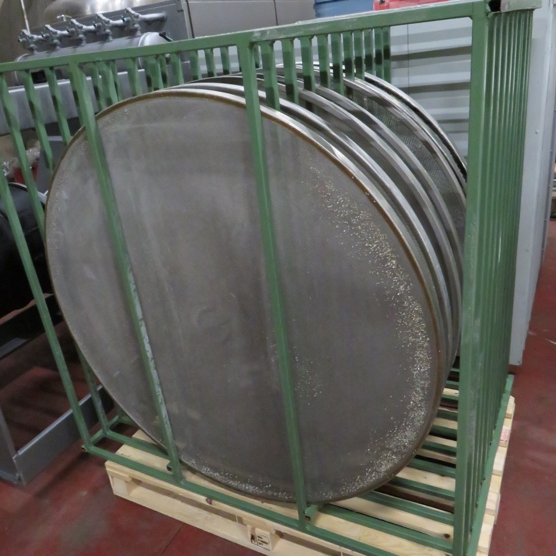 R6SA1131 Stainless steel RUSSELL FINEX circular sieve