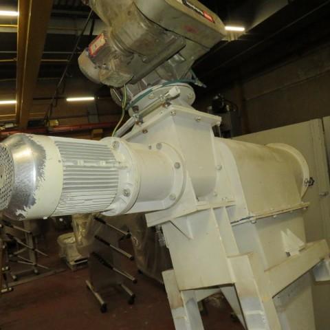 R6SR57 Mild Steel AZO rotary sieve E-650 type