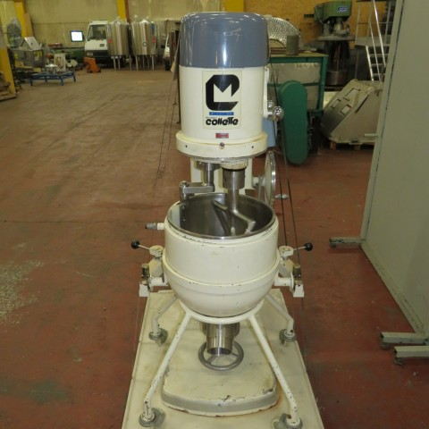 R6MP111  Mélangeur planétaire COLLETTE inox type MP90 40 Litres
