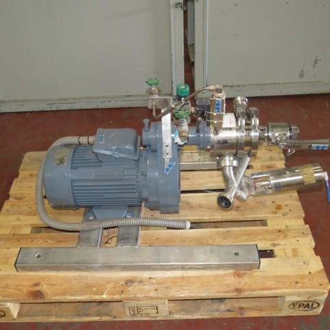 R6T1267  Disperseur/aspirateur de poudres YSTRAL inox type C6000 SL/CONTI4/TDS-2