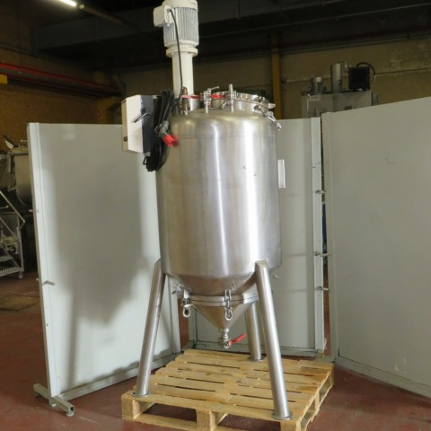 R6MA6137  Stainless steel OLSA mixing tank DECANTEUR type 400 litres