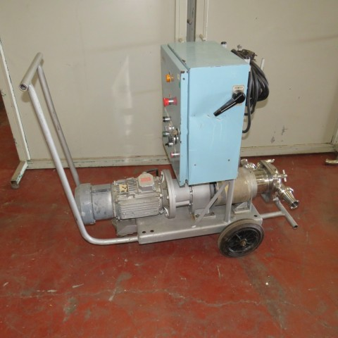 R10DB890  Stainless steel MOUVEX pump