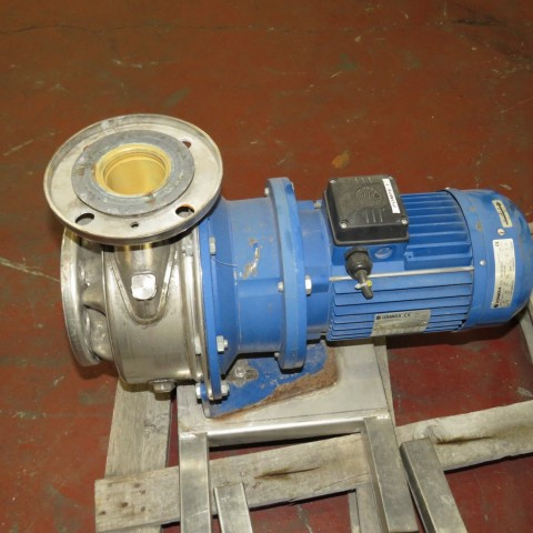 R10VA1269 Stainless steel LOWARA centrifugal pump SHS 65-160/40 type - Hp 5.5 - Rpm 2900