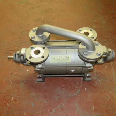 R10JA799  Stainless steel BARTHEL liquid ring vacuum pump type P416C/ H12