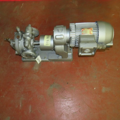 R10DB861  Mild steel MOUVEX pump type: AF1 - Hp 1.5