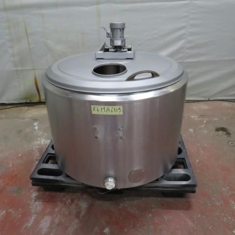 R6MA6109  Cuve mélangeuse inox ALFA-LAVAL 350 litres - 170 w
