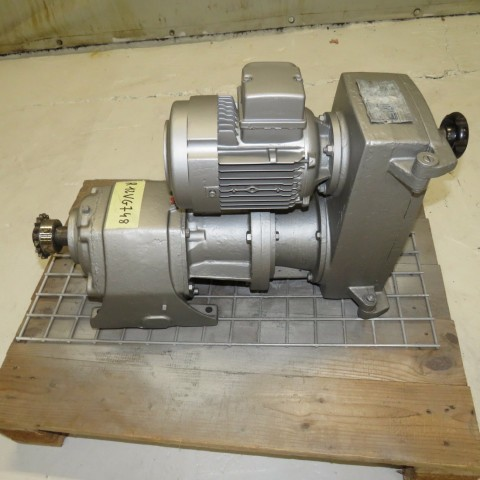 R12VG748 LEROY SOMER Motorised variator compabloc 10MV1CB13 type