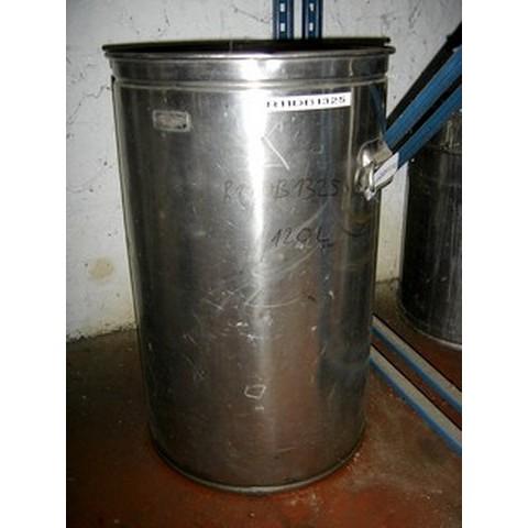 R11DB1325  Vertical stainless steel DECALINOX storage vessel 120 litres