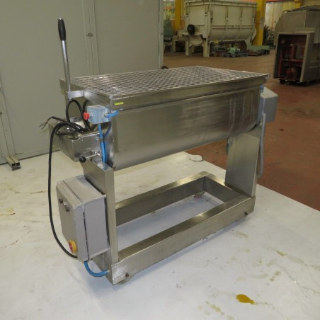 R6ME6376 Stainless steel pallet mixer 200 litres