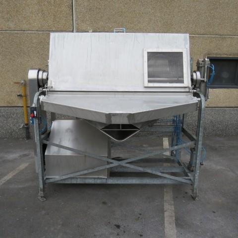 R6MK1406  Mélangeur à rubans BIONAZ inox capacité totale 850 litres