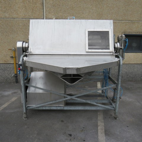 R6MK1406 Stainless steel BIONAZ Ribbon blender total capacity 850 litres