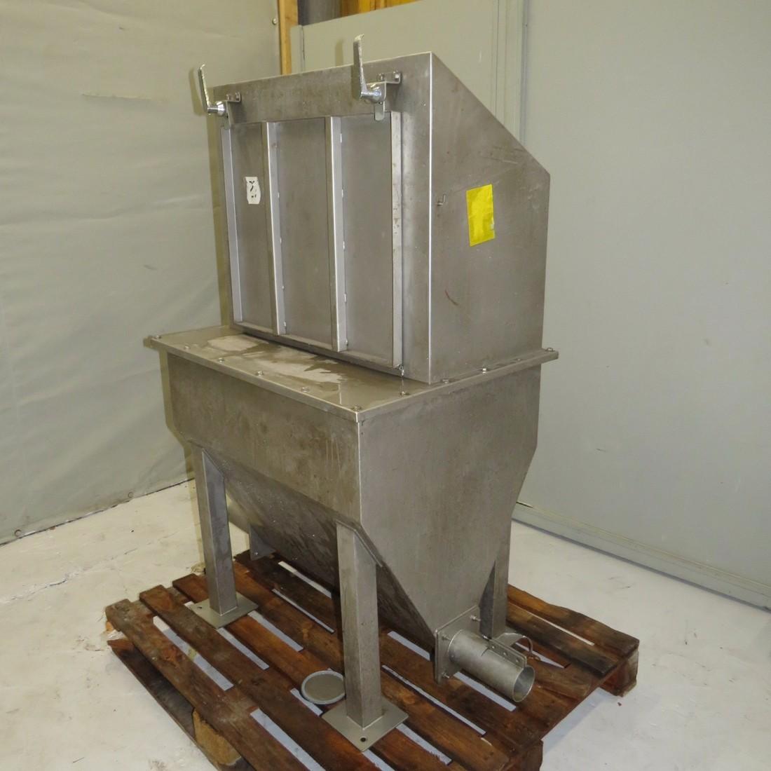 R11TB888 Stainless steel hopper bag