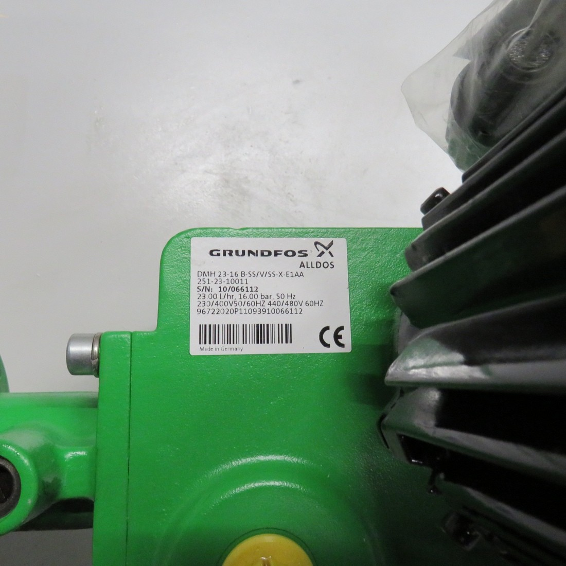 R10N759  Pompe doseuse GRUNDFOS inox type DMH 23-16