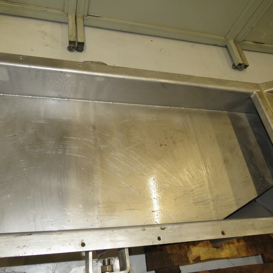 R4U79  Stainless steel SINEX Vibrating conveyor TRANSPORTEUR type