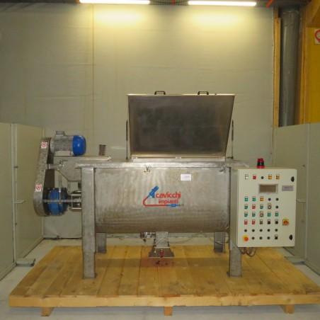 R6MK1408 Stainless steel CAVICCHI Ribbon blender MOR98 type capacity 900 litres