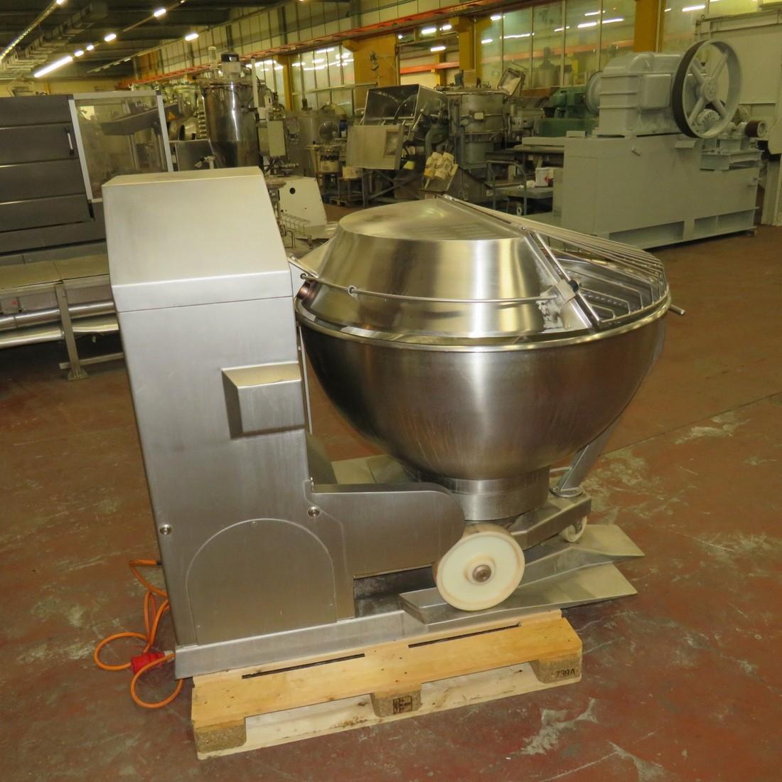 R6MP113 STORK-HERMANN WESTFALIA planetary mixer MA 400 D type capacity 400 litres