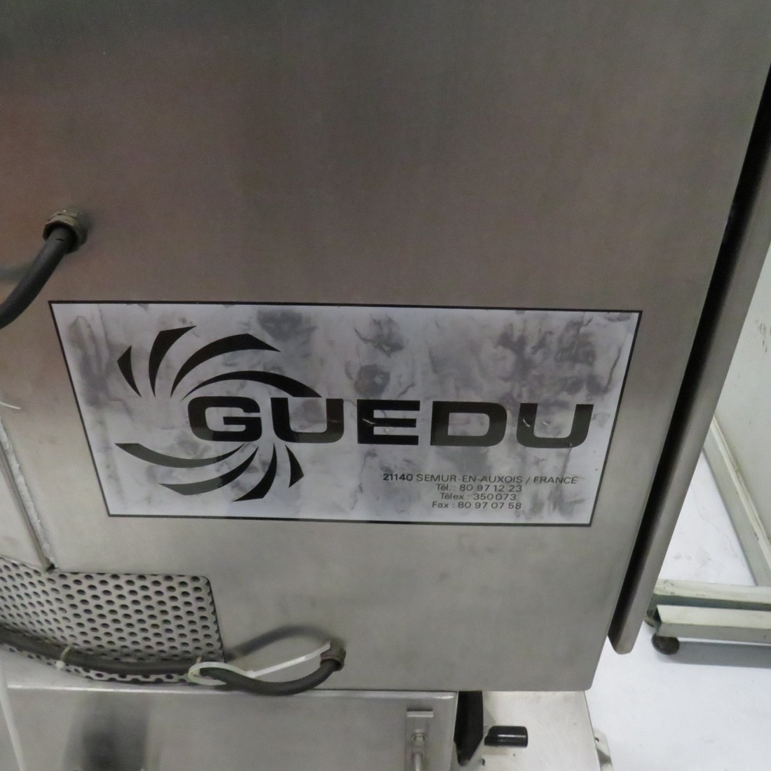 R6MC896 Stainless steel GUEDU mixer 20 NO/PA n° 8062 type capacity 20 litres