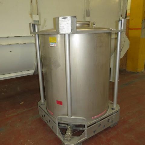 R11CB181  Container inox AZZINI 1251 litres