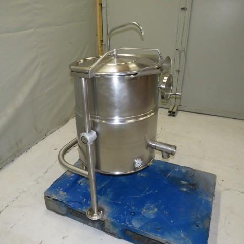 R11DB22665  Fondoir électrique inox NAT'L type KEL 25T capacité 100 litres