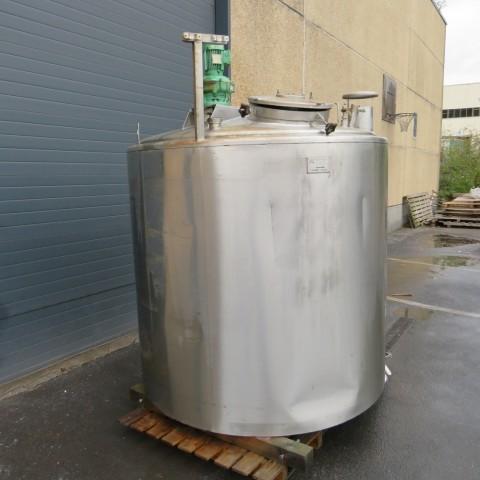 R6MA6142 Cuve mélangeuse PIERRE GUERIN inox capacité 3130 litres