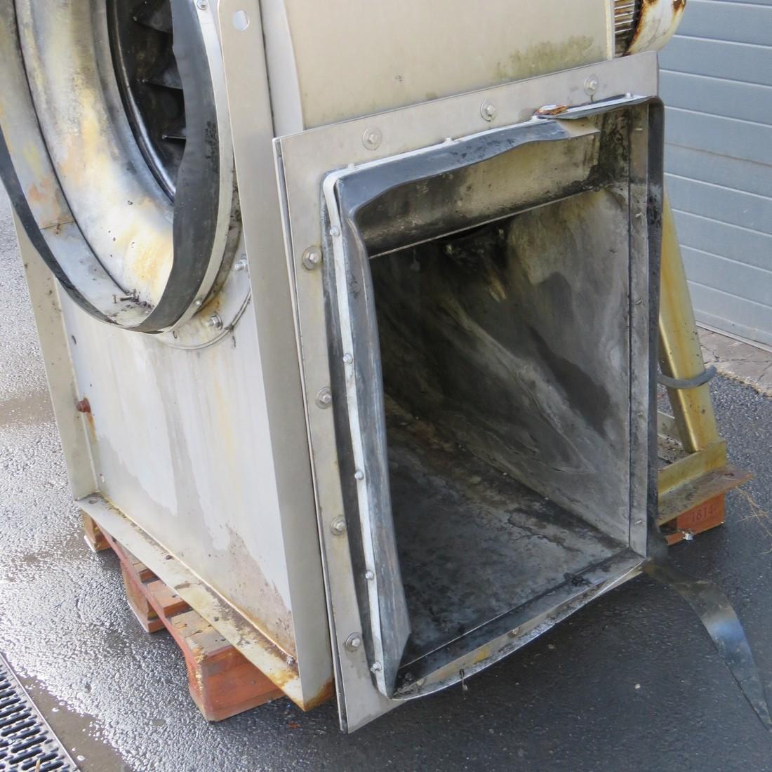 R1X1269 Stainless steel MZ ASPIRATORI centrifugal fan RL800/4 type