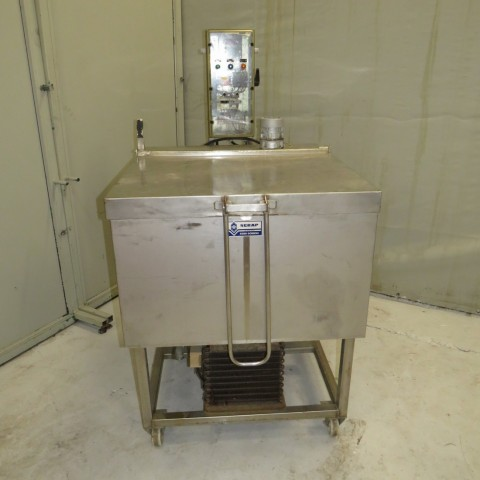 R1Z748 Stainless steel SERAP heating bath capacity 300 litres