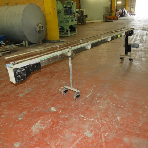 R4FB1173  Stainless steel belt conveyor