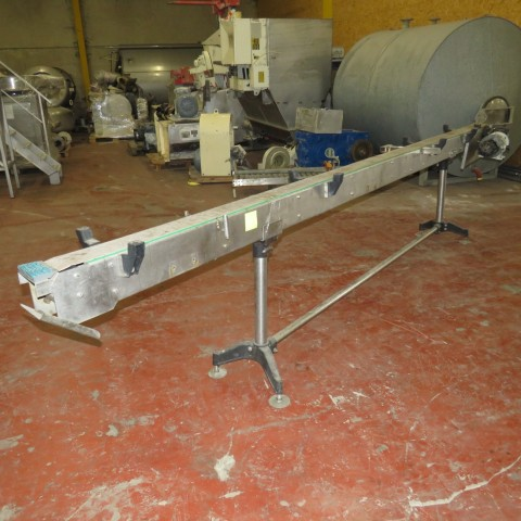 R4FB1172 Stainless steel belt conveyor