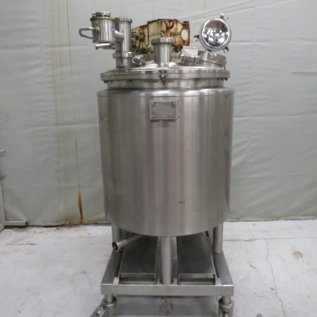 R6MA6143  Stainless steel PIERRE GUERIN mixing tank 300 litres