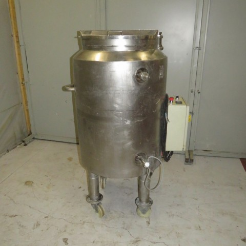 R11DB22670 Stainless steel vessel capacity 250 litres