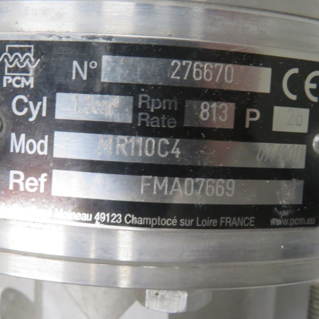 R10DA878 PCM pump MR110C4 type