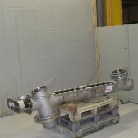 R4S1081 Stainless steel CORNELOUP screw - Ø 195 x 2050 mm