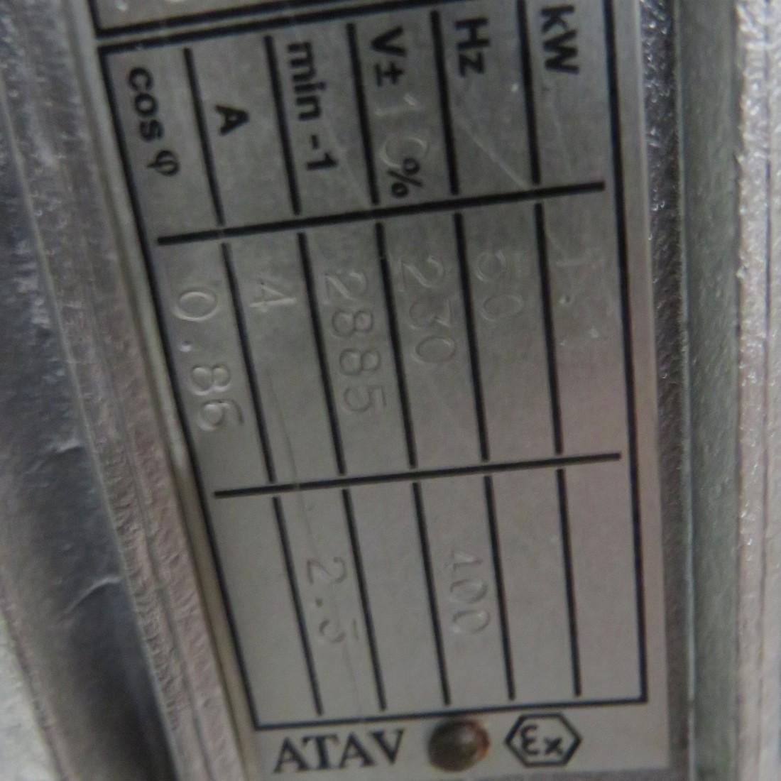 R6T1271 Agitator EUROMELANGE hp 1.5 -Rpm 380 to 1900
