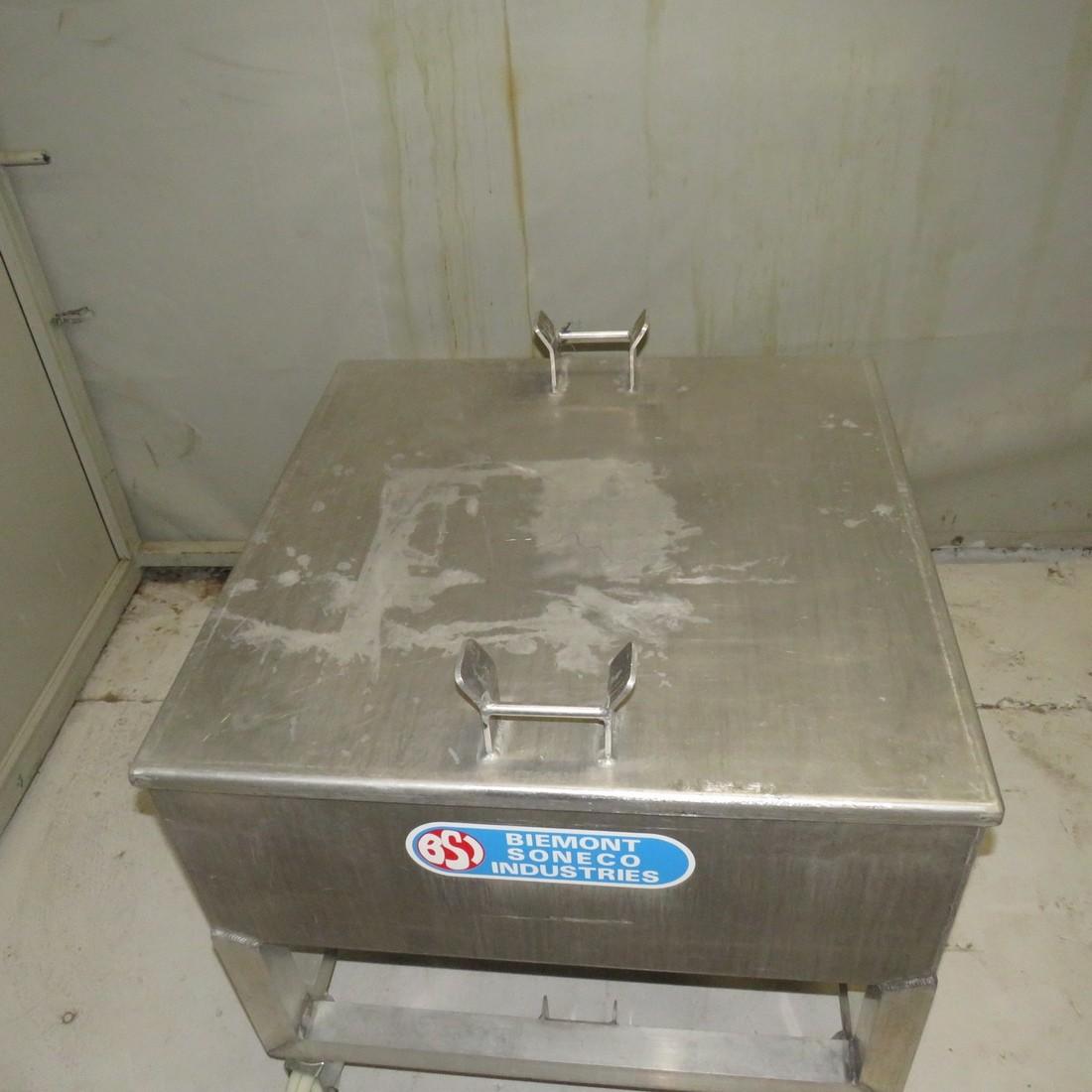 R11CA33 Container BSI-SONECO Aluminium 200 liters type CC-200