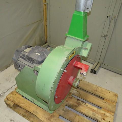 R6BA854 Mild steel Hammer mill TOY 11 kw