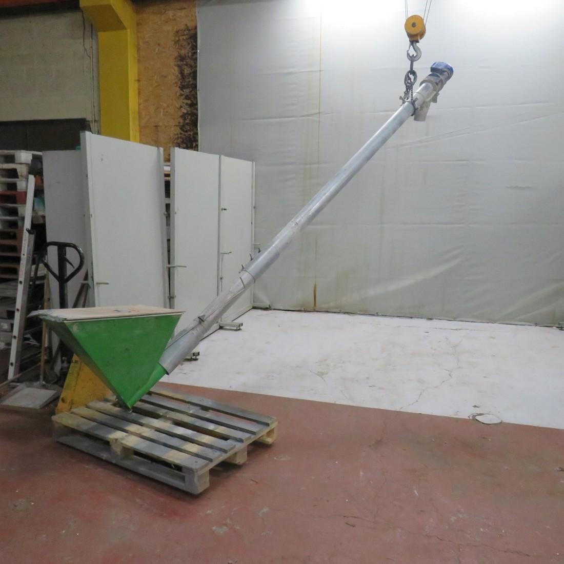 R4S1085 Mild steel screw in tube Ø 100 mm lenght 3850 mm