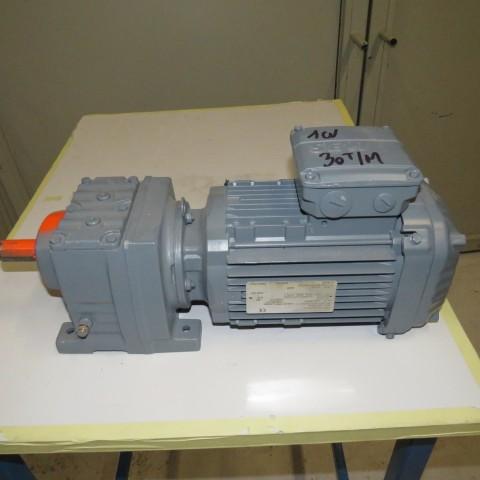 R12MA2777 SEW geared motor Type R37DRN080M4-rpm 30-hp 1