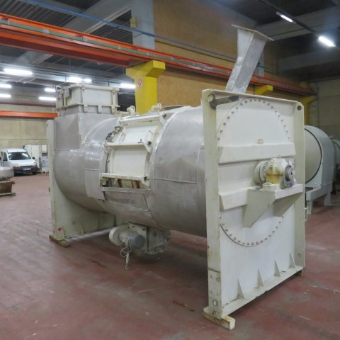 R6MK1412 Mélangeur à rubans Inox ENGELSMANN -5600 litres-30 kw