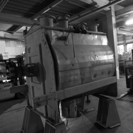 R6MK1413 Stainless steel ribbon blender DRAIS-2500 liters- hp 40