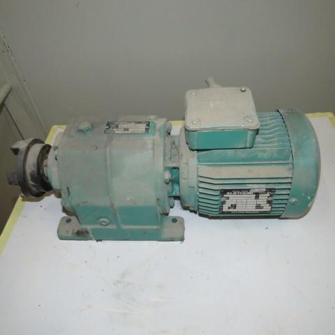 R12MA2784 Motoréducteur ALSTHOM Type ALP 2103 -0.37 kw - 40 t/min
