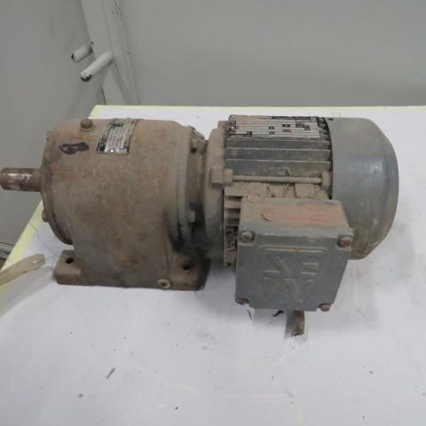 R12MA2786 Motoréducteur SEW type: DFT71 - 0.37 kw -54t/min