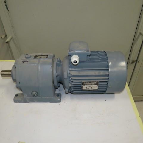 R12MB748 Motoréducteur LEROY SOMER type: CB2202SV-  3 kw- 230 t/min