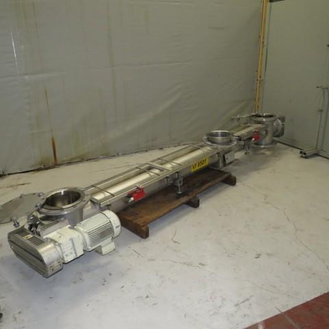 R4S1086 Vis inox CORNELOUP sous auge -73 t/min Ø 200 mm - longueur 3100 mm