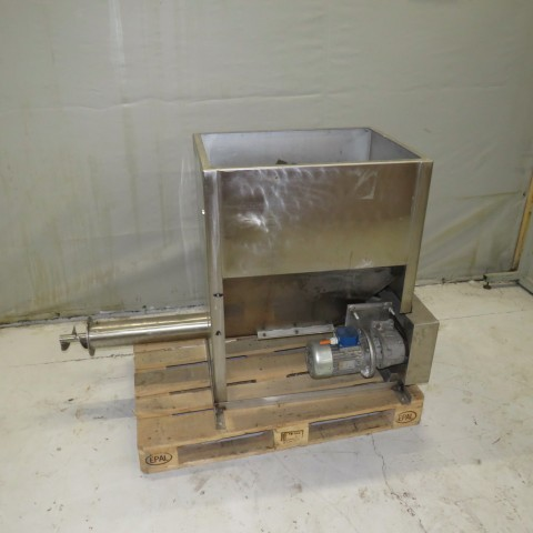 R6VB841 stainless steel dosing machine hp 1.5 screw Ø 100