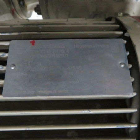 R10DC872 DELASCO PERISTALTIC  PUMP TYPE DSC45 - 1.5 kw / HP 2