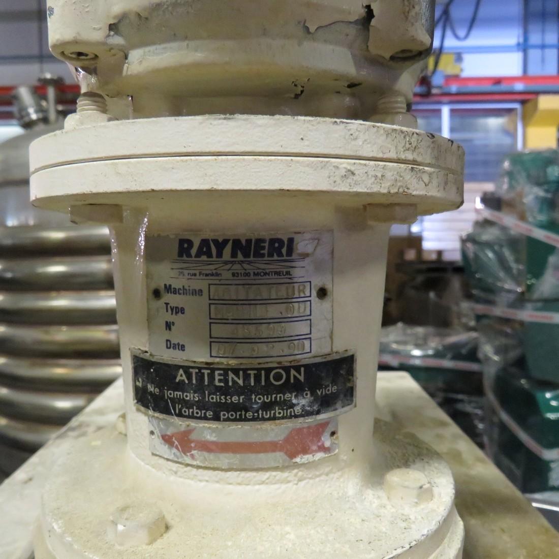 R15A992 Mixing skid with RAYNERI agitator