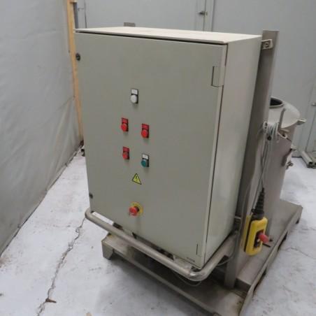 R6VB842 Stainless steel TRANSITUBE dosing machine Type T51 250 liters