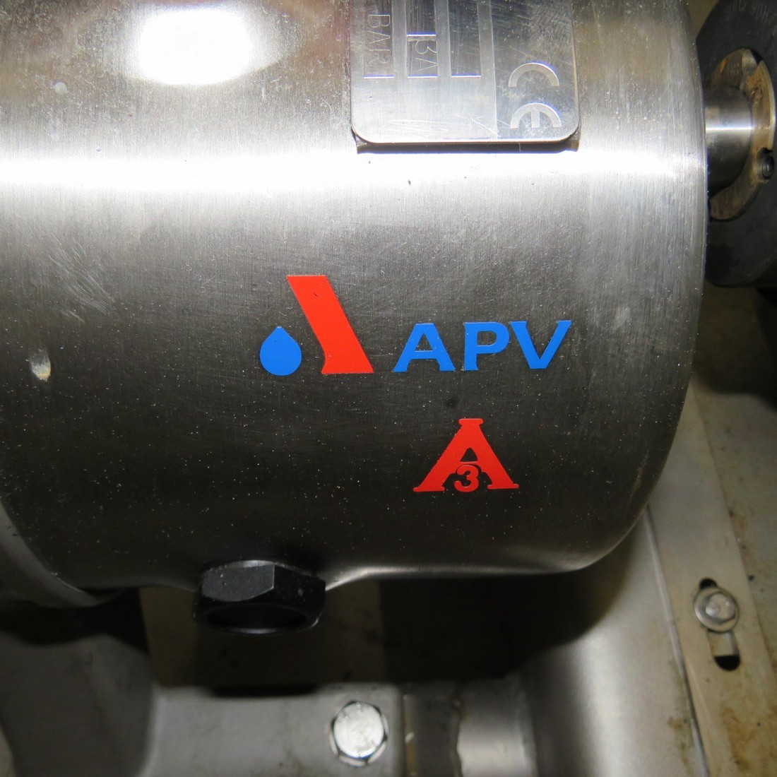 R10DE845 Stainless steel roots rotary pump APV Type DW2/2013/10 hp 3