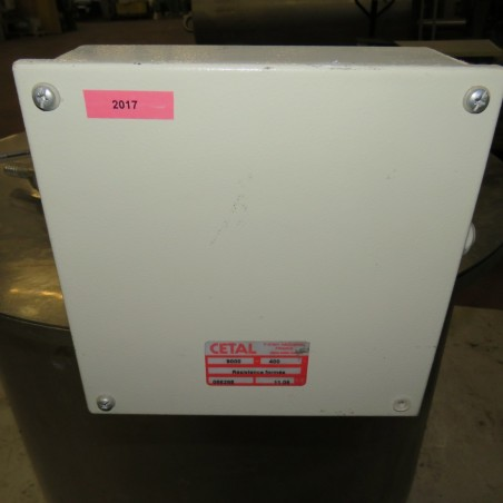 R11DB22677 Stainless steel tank 350 liters with MADINOX immersion heater - 9 kw